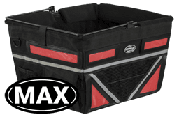 Pet-Pilot MAX Bike Basket Angled Red